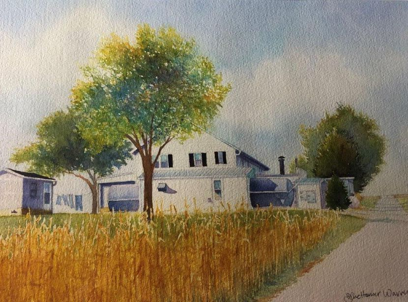 Carr Cheese Factory Painting