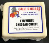 1 Year White Cheddar