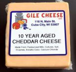 10 Year Aged Extra Sharp Cheddar