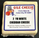 2 Year White Cheddar