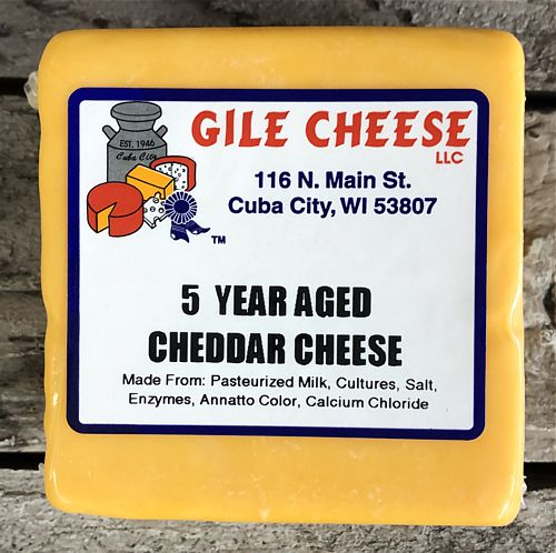 5 Year Aged Extra Sharp Cheddar