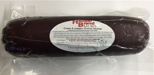 Hauber's Cheese and Jalapeno Summer Sausage