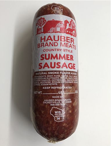 Hauber's Summer Sausage Approx. 2#