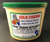 Sharp Cheddar Spread with Garlic - 12 oz.
