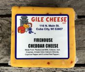 Firehouse Cheddar - Cayenne and Crushed Red Pepper