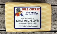 Smoked Swiss and Cheddar