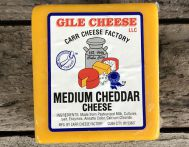 Medium Cheddar - 1 lb.