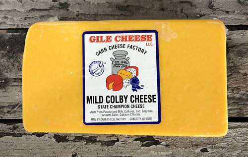 Mild Colby - 2 lbs. - State Champion Cheese