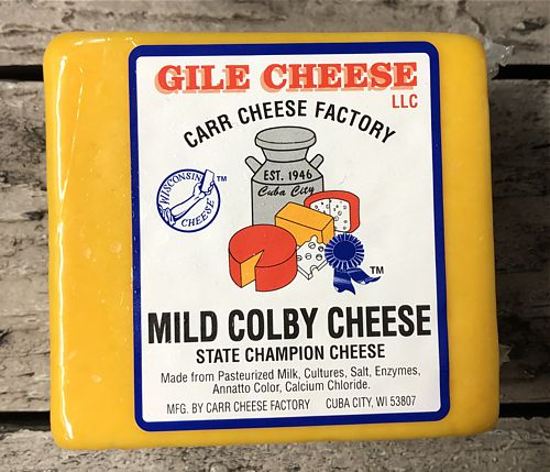Mild Colby - 1 lb. - State Champion Cheese
